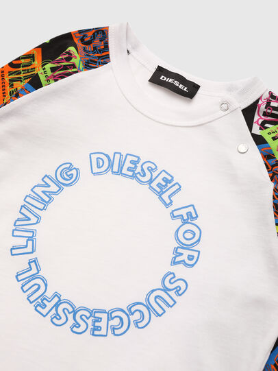 Diesel - TENTYB, White - T-shirts and Tops - Image 3
