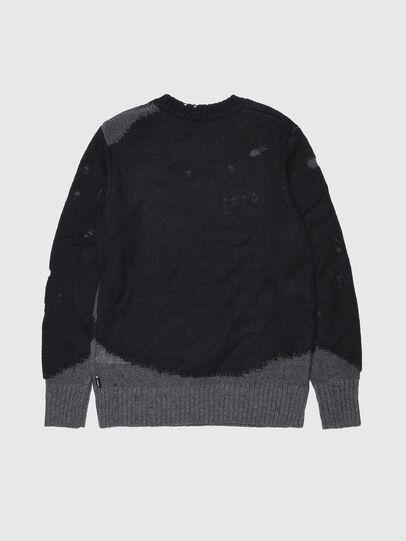 Diesel - KSLOUR, Black - Knitwear - Image 2