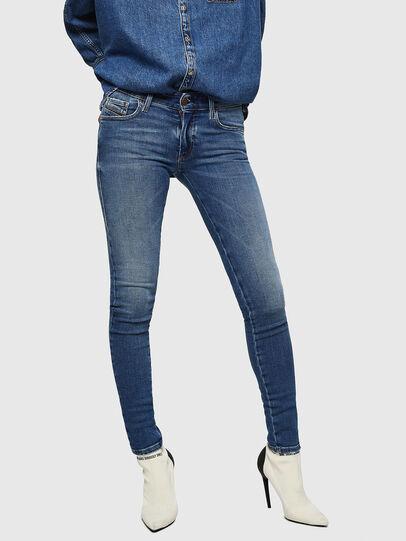 Diesel - Slandy Low 083AN, Medium blue - Jeans - Image 1