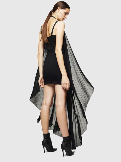 Diesel - D-SOLEIL, Black - Dresses - Image 2