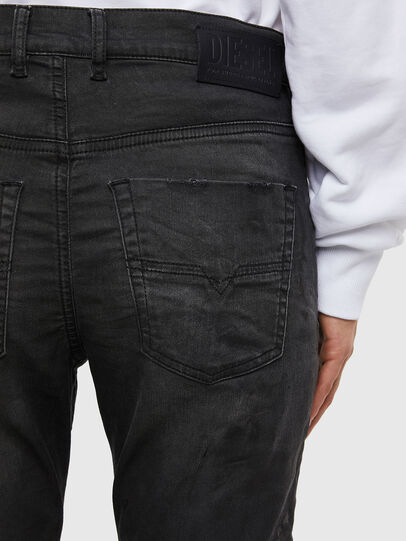 Diesel - Krailey JoggJeans 069QL, Black/Dark grey - Jeans - Image 5