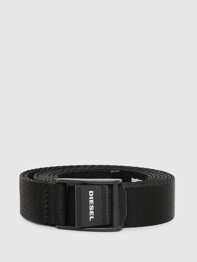 Diesel - B-LONPE, Black - Belts - Image 1