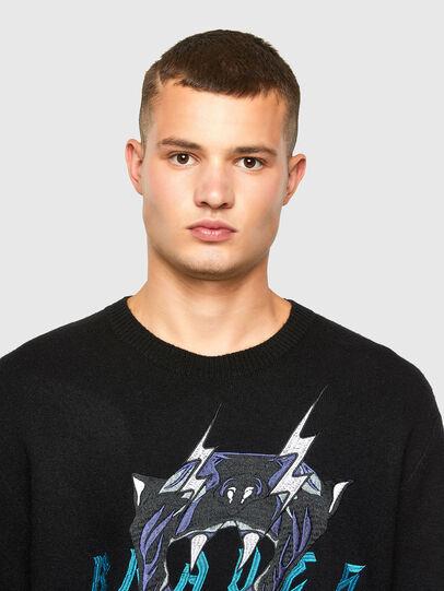 Diesel - K-NOAH, Black - Knitwear - Image 4