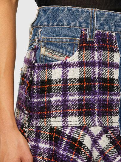 Diesel - O-BETH-BUCLE, Blue/Violet - Skirts - Image 5