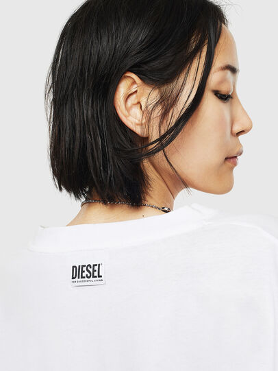 Diesel - T-GIANP-S1, White - Tops - Image 5