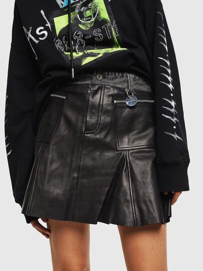 Diesel - L-FUJO, Black - Skirts - Image 1