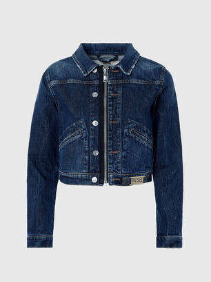 DE-BLONDY, Dark Blue - Denim Jackets