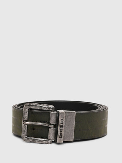 Diesel - B-DOUCKLE, Dark Green - Belts - Image 1