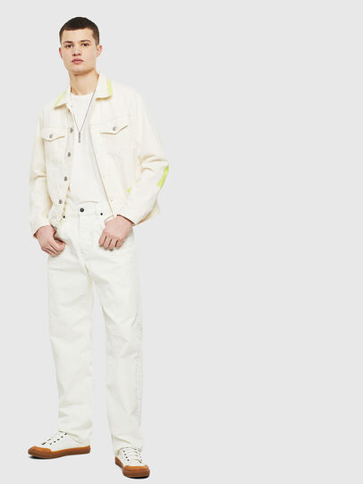 Diesel - NHILL-SP, White - Denim Jackets - Image 7