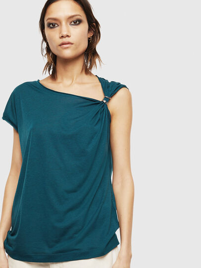 Diesel - T-SALEM, Dark Green - Tops - Image 1