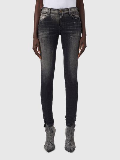 Diesel - D-Jevel 09B18, Black/Dark grey - Jeans - Image 1