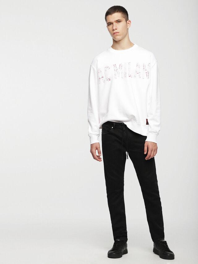 Diesel - DVL-SIFLA-CAPSULE, White - Sweaters - Image 4