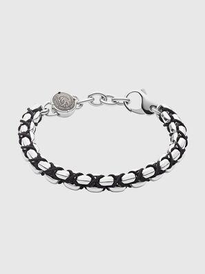 DX1180, Silver/Black - Bracelets