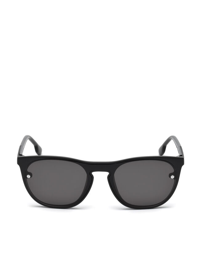 Diesel - DL0217, Black - Sunglasses - Image 1