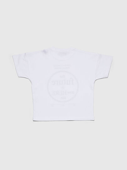 Diesel - TARTIB-R, White - T-shirts and Tops - Image 2