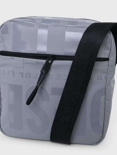 Diesel - X-BOLD DOUBLE CROSS, Grey - Crossbody Bags - Image 5
