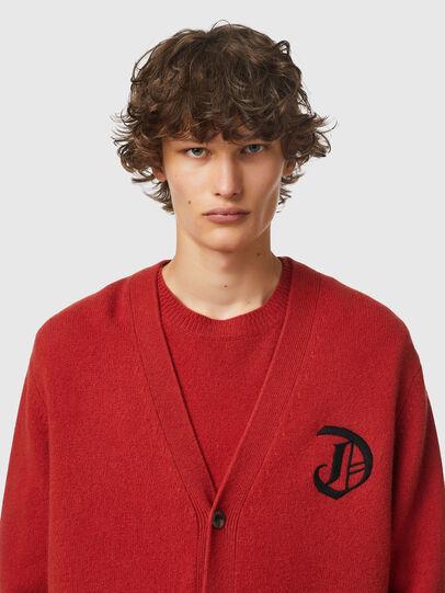 Diesel - K-CARY, Brown - Knitwear - Image 3