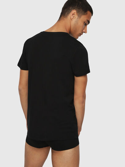 Diesel - UMTEE-MICHAEL3PACK, Black - Tops - Image 3