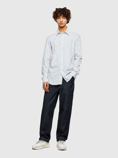 Diesel - S-RILEY-KA-A, White - Shirts - Image 4