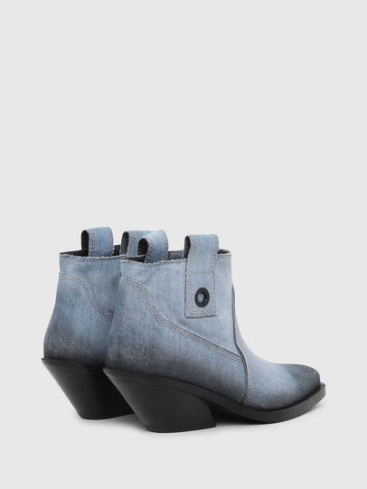 Diesel - D-GIUDECCA MAB, Blue Jeans - Ankle Boots - Image 3