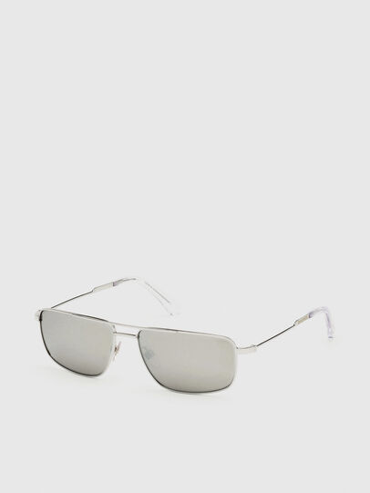 Diesel - DL0308, White - Sunglasses - Image 2