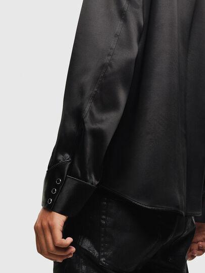 Diesel - S-VEL, Black - Shirts - Image 6