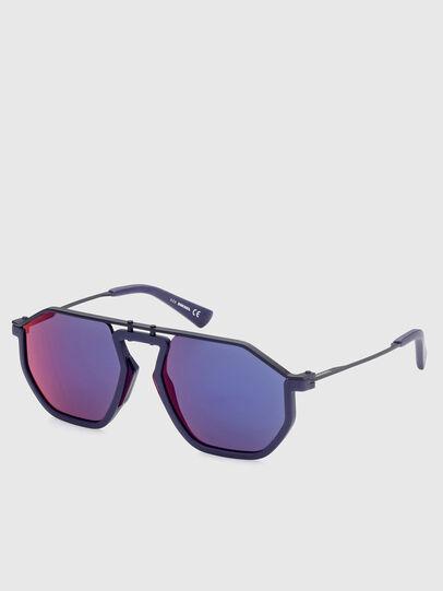 Diesel - DL0346, Blue - Sunglasses - Image 2