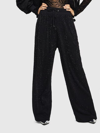 Diesel - P-STRASS-C, Black - Pants - Image 1