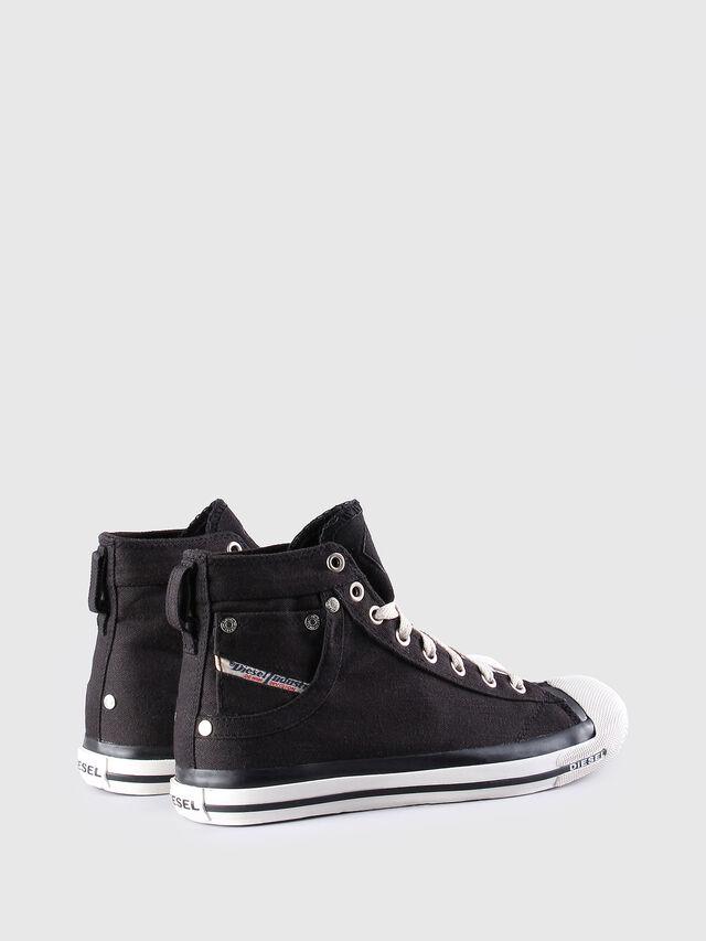 Diesel - EXPOSURE W, Black - Sneakers - Image 3