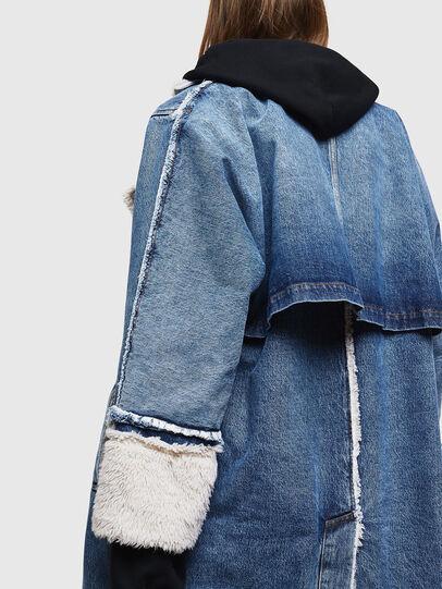 Diesel - DE-VALY, Medium blue - Winter Jackets - Image 5