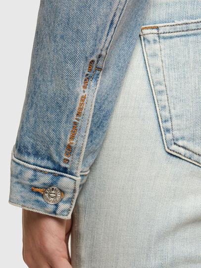 Diesel - DE-LIMMY, Light Blue - Denim Jackets - Image 4