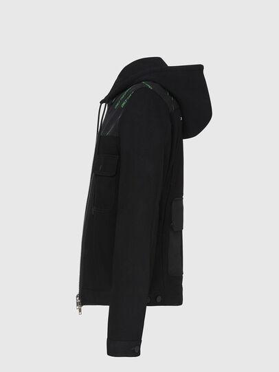 Diesel - D-COSMIC, Black - Denim Jackets - Image 3