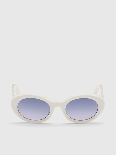 Diesel - DL0281, White - Sunglasses - Image 1
