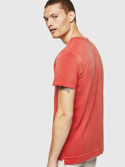 Diesel - T-DIEGO-CUT-AB, Fire Red - T-Shirts - Image 2