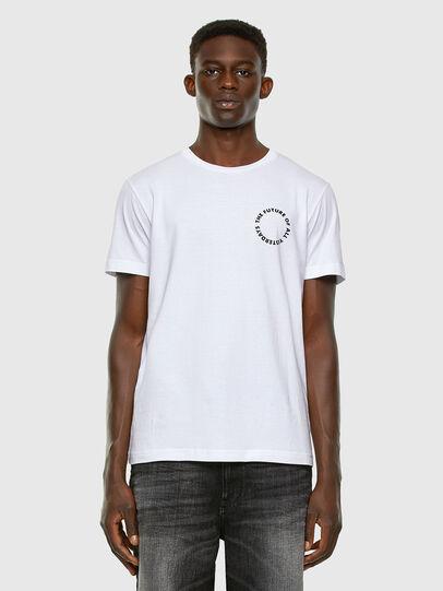 Diesel - T-DIEGOS-X46, White - T-Shirts - Image 5