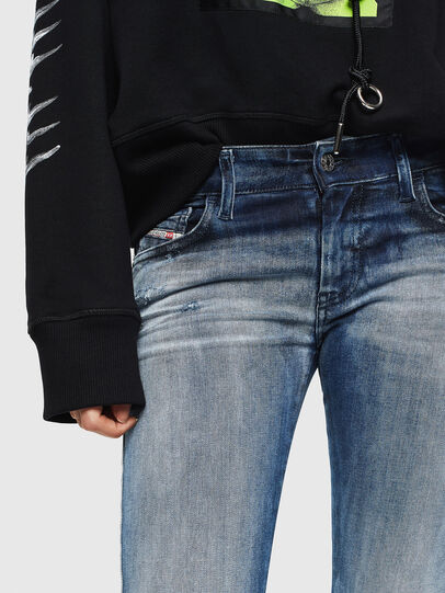 Diesel - Slandy Low 0095C, Medium blue - Jeans - Image 5