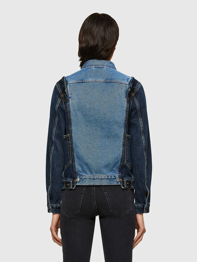 Diesel - DE-WIGG-SP, Medium blue - Denim Jackets - Image 2