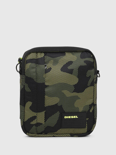 Diesel - ODERZO, Green Camouflage - Crossbody Bags - Image 1