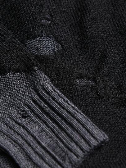 Diesel - KSLOUR, Black - Knitwear - Image 3