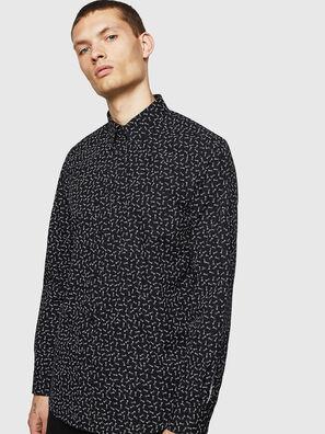 S-VEN-NAIL, Black/White - Shirts