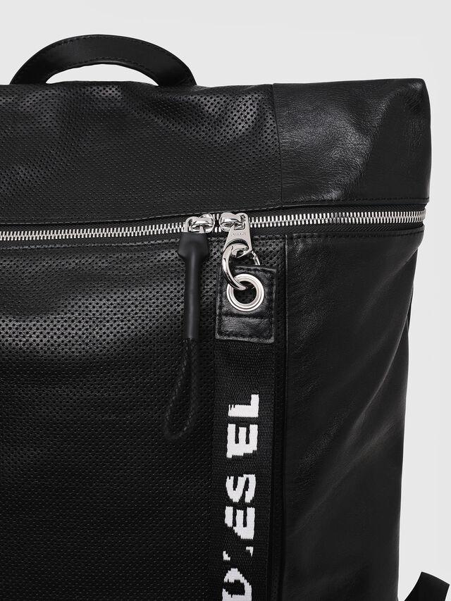 Diesel - L-TOLLE BACK, Black - Shopping and Shoulder Bags - Image 5