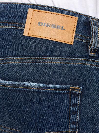 Diesel - Sleenker 009DK, Dark Blue - Jeans - Image 4