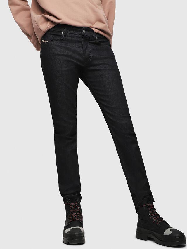 Diesel - Buster 0607A, Dark Blue - Jeans - Image 1