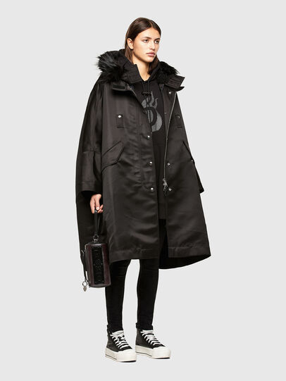 Diesel - W-URSULA-A, Black - Winter Jackets - Image 6