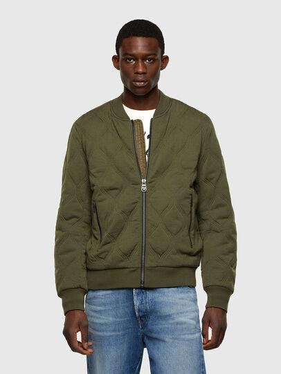Diesel - K-CHRYSO, Military Green - Knitwear - Image 1