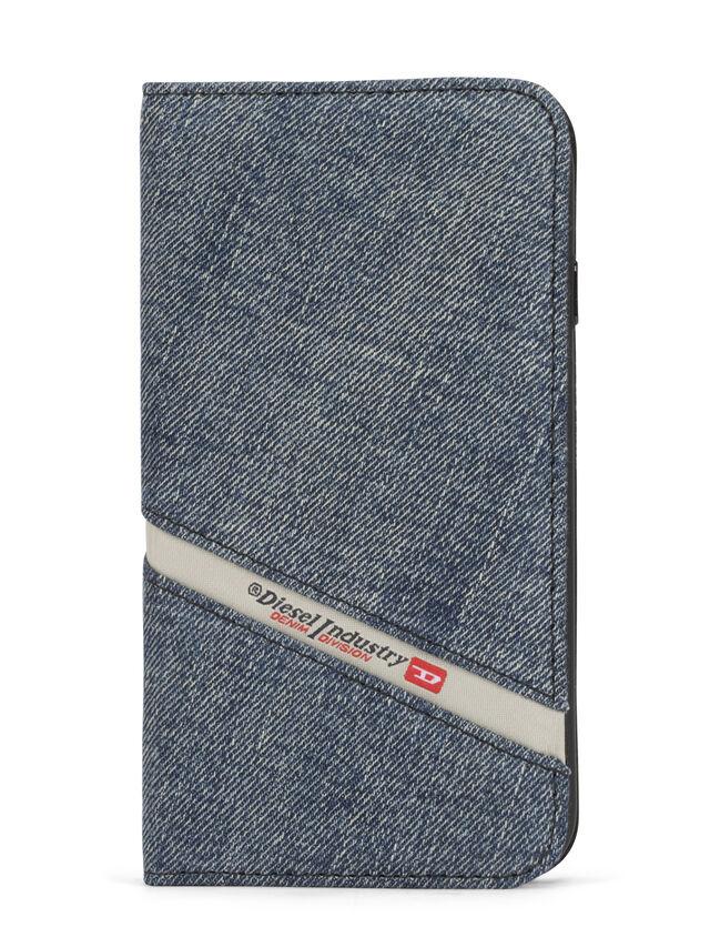 Diesel - DENIM IPHONE 8/7 FOLIO, Blue Jeans - Flip covers - Image 2