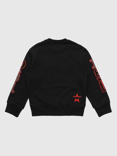 Diesel - SBAYSTUDS OVER, Black - Sweaters - Image 2
