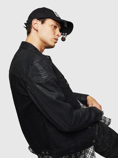 Diesel - D-DANY, Black/Dark grey - Denim Jackets - Image 5