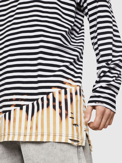Diesel - T-OKSANA, Black/White - T-Shirts - Image 5