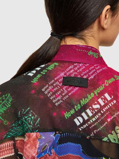 Diesel - C-CASEYL, Black/Pink - Shirts - Image 3